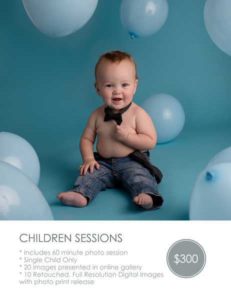 Baby & Child Portrait Sessions $300 60 minute session Single Child Only 10 Retouched, Full Resolution Images (Perfect for Cake Smash, First Birthday, Sitter Milestone Sessions)